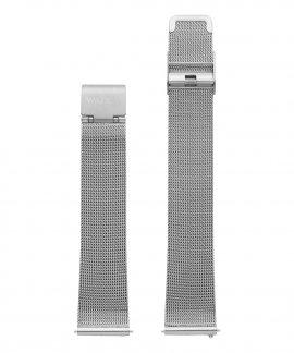 Watx and Co 38 Basic Mesh Silver Bracelete Mulher WXCO2000
