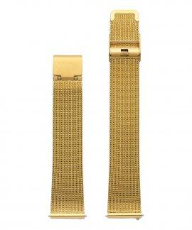 Watx and Co 38 Basic Mesh Gold Bracelete Mulher WXCO2001