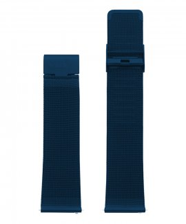 Watx and Co 44 Psicotropical Mesh IP Blue Bracelete WXCO2706