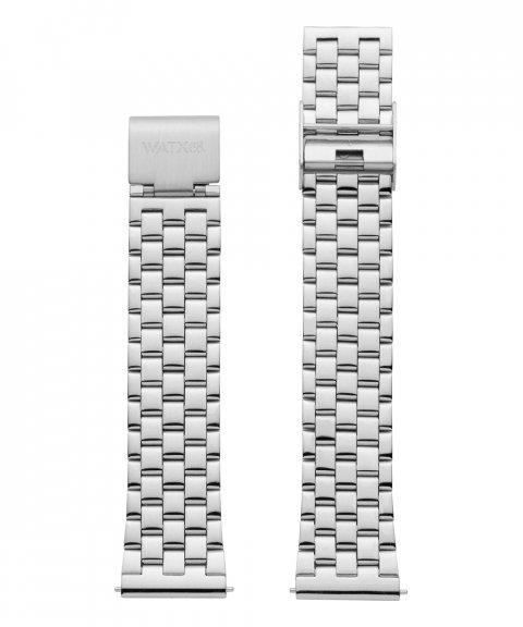 Watx and Co 38 Grunge Silver Bracelete Mulher WXCO3000