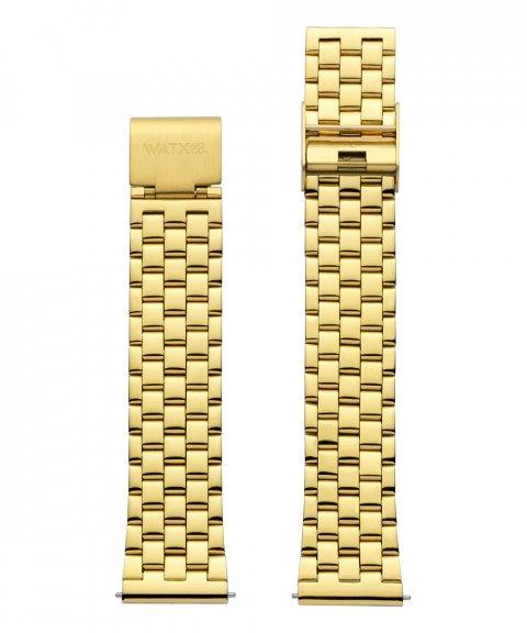 Watx and Co 38 Grunge IP Gold Bracelete Mulher WXCO3001