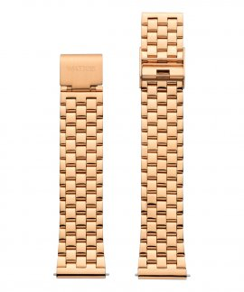 Watx and Co 38 Grunge IP Rose Gold Bracelete Mulher WXCO3002