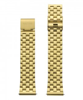 Watx and Co 38 Basic IP Gold Mate Bracelete Mulher WXCO3007