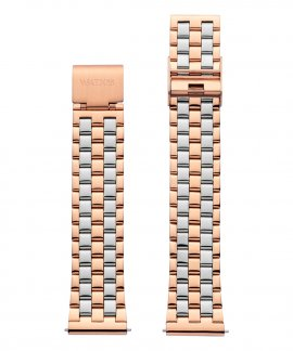 Watx and Co 38 Basic Rosegold and Silver Bracelete Mulher WXCO3016