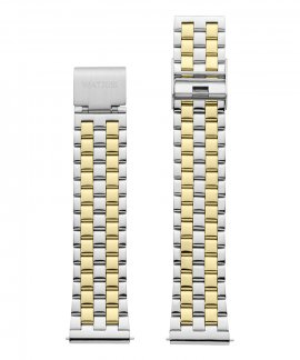 Watx and Co 38 Basic Silver and Gold Bracelete Mulher WXCO3017