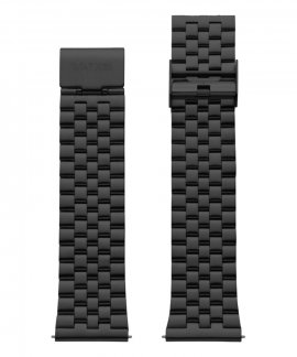 Watx and Co 44 Basic IP Black Bracelete WXCO3704
