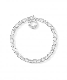 Thomas Sabo Charm Club Classic Small Joia Pulseira Mulher X0031-001-12