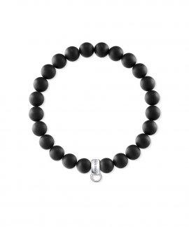 Thomas Sabo Charm Bracelet Black Joia Pulseira X0219-023-11