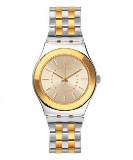 Swatch Irony Goldensilver Relógio Mulher YLS207G