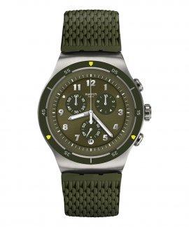 Swatch Irony Runforest Relógio Homem Cronógrafo YOS461