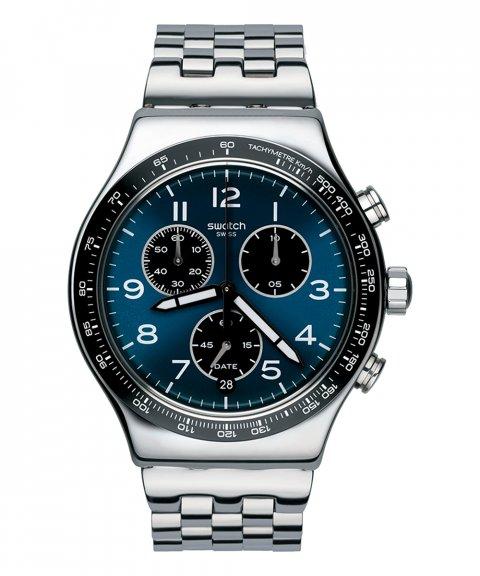 Swatch Tech-Mode Boxengasse Relógio Homem Chronograph YVS423G