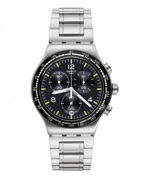 Swatch Irony Night Flight Relógio Homem Chronograph YVS444G