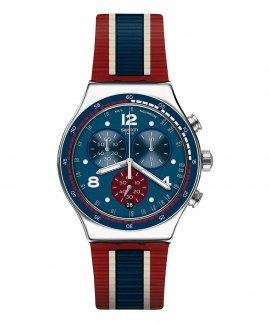 Swatch Irony College Time Relógio Homem Chronograph YVS449