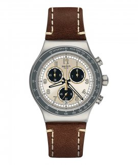 Swatch Irony Rhum Relógio Homem Chronograph YVS455