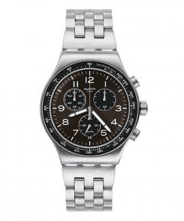 Swatch Deepgrey Relógio Homem Cronógrafo YVS465G