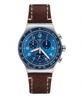 Swatch Irony Casual Blue Relógio Homem Cronógrafo YVS466