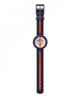 Flik-Flak Orange Ahead Relógio ZFCSP078