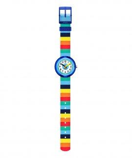 Flik-Flak Stripybow Relógio ZFPNP056