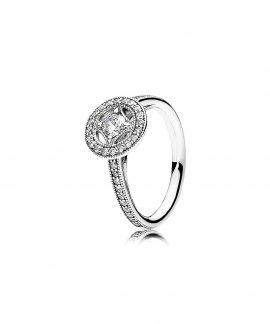 Pandora Vintage Allure Jewel Ring Ladies 191006CZ